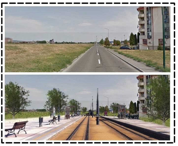 Zona Centrală, Vestică și Estică a Municipiului Tîrgu Mureș și malul drept al Mureșului